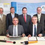 Landkreise Karlsruhe und Rhein-Neckar-Kreis kooperieren bei Breitbandausbau