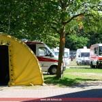 DRK Leimen bei der Formel 1: Absicherung des Großen Preises von Deutschland