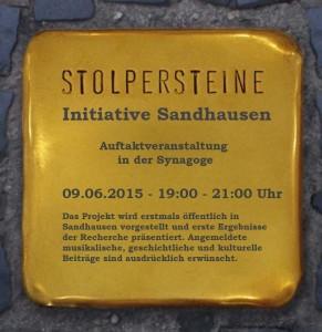 2217 - Stolperstein Sandhausen