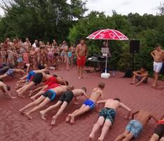 """Am Mittwoch: """"PLATSCH – Hits for Kids"""" </br>Mit DJ Henninger im Leimener Freibad"""