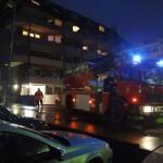 AKTUELL: Großer Feuerwehreinsatz in der Ferdinand-Porsche-Straße in Leimen