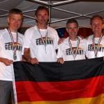Rückwärtslauf-Weltmeisterschaft: Drei Läufer der SG Nußloch erfolgreich