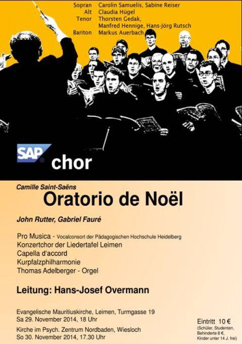 4430 - SAP-Chor Plakat