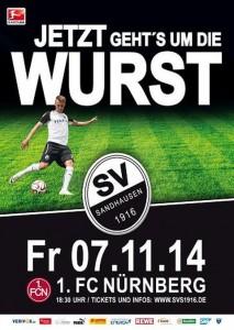 4443 - SVS Nürnberg Plakat