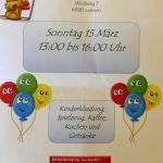 4884 - Kinderflohmarkt Radsporthalle Plakat