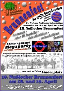5012 - Nusslocher Brunnenfest Plakat 480