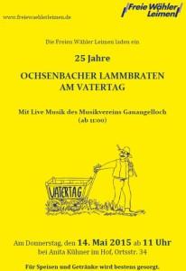 5102 - FW Lammbraten Plakat