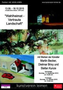 5607 - Kunstverein Plakat