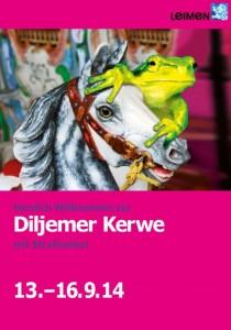 4153 - Diljemer Kerwe Großbanner