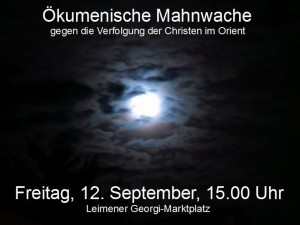 4188 - Mahnwache