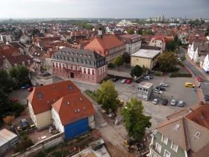 4217 - Rathaus von oben