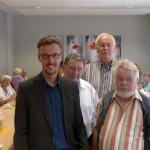 Dr. Lars Castellucci zu Gast beim AWO-Senioren-Nachmittag in Leimen