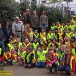 Automobilclub Leimen spendet Sicherheitswesten für Erstklässler