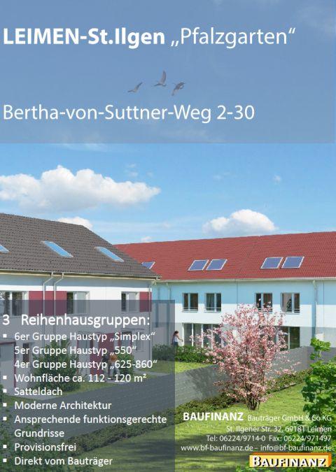 Baufinanz Pfalzgarten Plakat A4