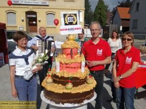 4276 - Burg-Apotheke Sandhausen - Jubiläum 1