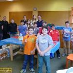 Schüler und Jugend-Gemeinderäte verschönern GSS-Schülercafé