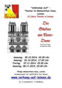 4317 - Glöckner von Notre Dame - Vorhang-auf-Theater Leimen