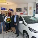 """Rundes Jubiläum in St. Ilgen:</br>40 Jahre """"Peugeot"""" im Autohaus Purkart"""