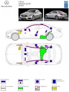 4373 - Hauptuebung FFW Nussloch - 11 Rettungskarte Mercedes
