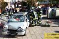 Hauptübung der Freiwilligen Feuerwehr Nußloch: Rettung aus Unfallfahrzeugen