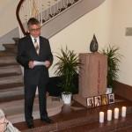 Schweigeminuten im Rathaus zum Gedenken an die Gurs-Opfer Leimens