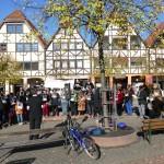 Freitags-Mahnwache gegen IS-Terror verliert Momentum