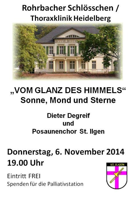 4417 - Plakat Posaunenchor St Ilgen - Rohrbacher Konzert