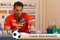 Der SVS vor dem Spiel gegen den Karlsruher SC (Video Pressekonferenz)