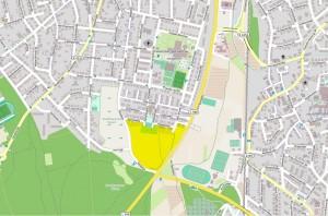 4429 - Sandhausen Bebauungsplan Grosse Mühllach 2 - Umgebung