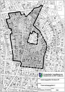 4429 - Sandhausen Sanierungsgebiet Ortskern IV