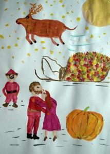 4440 - Weihnachtsmärchen Illustration