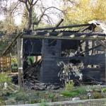 Leimen: Mehrere Einbrüche in Gartenhütten – Eine Hütte niedergebrannt