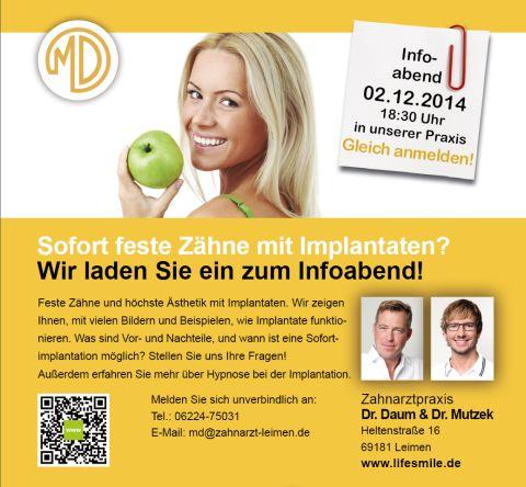 4504 - Dres Daum Mutzek Infotag Plakat