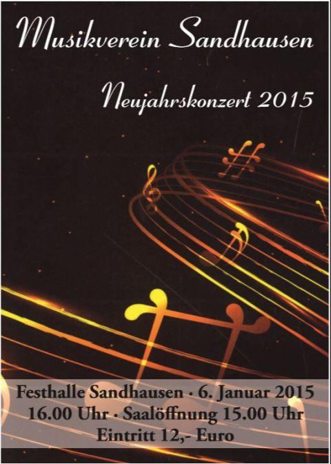 4535 - Plakat Musikverein SA Neumjahrskonzert