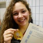 Miriam Nafar 4-fache Deutsche Gehörlosenmeisterin im Schwimmen