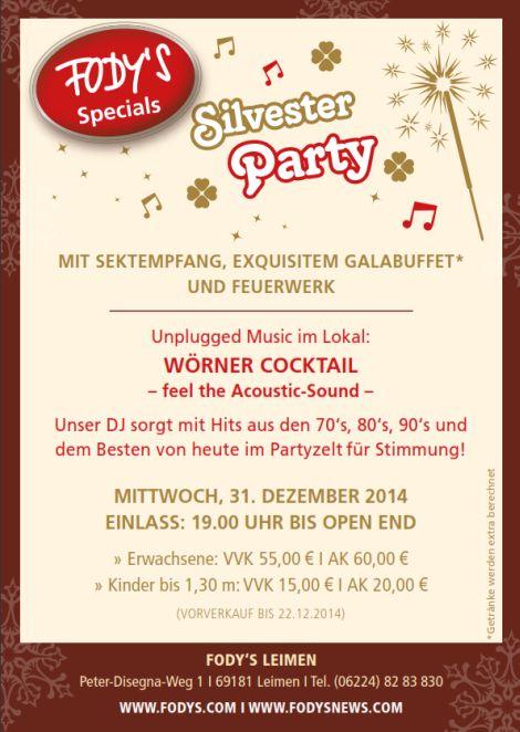 Leimen Silvester Party 2