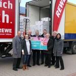 REWE spendete Lebensmittel im Wert von 33.333€
