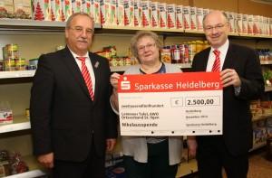 4586 - Sparkasse spendet 2500€ an Leimener Tafel