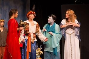 4692 - Prinzessin Jasmina, Aladdin, Flaschengeist, Fee des Ringes