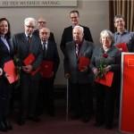 SPD Sandhausen ehrte langjährige Mitglieder auf Neujahrsempfang