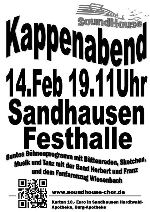 4701 - Kappenabend SA