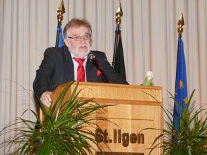 4717 - Neujahrsempfang Stadt Leimen - 11 - Prof Muehlhausen