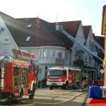 Brand in Sandhäuser Bahnhofstraße: </br>Hoher Sach-, kein Personenschaden