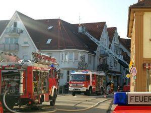4757 - Brand Bahnhofstrasse Sandhausen - 1