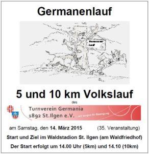 4803 - Germanenlauf Plakat