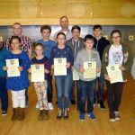 Winterfeier der Diljemer Sportschützen: Christiane Ehrbahr Sportlerin des Jahres 2014