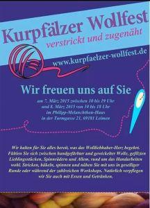 4842 - Wollfest Plakat
