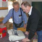 Das Leimener Repair-Cafe gestartet: Toaster, Fön und elektrische Schreibmaschine