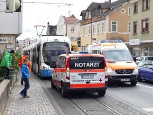 4969 - RNV Straßenbahn Nothalt