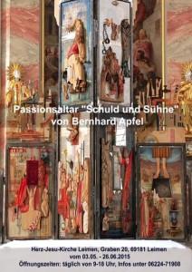 5095 - Schuld und Sühne Passionsaltar
